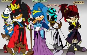 Anthro, Sonic, original characters