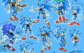 genderswap, Sonic Unleashed, Sonic Riders, Sonic, Sonic the Hedgehog, Sonic Boom