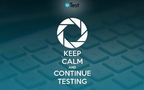 uTest, testing