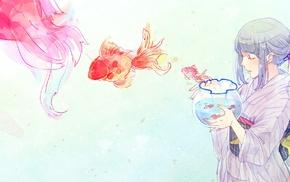 anime girls, digital art