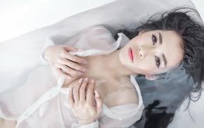 model, girl, Asian