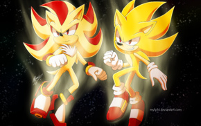 Shadow the Hedgehog, Sonic the Hedgehog, Sonic