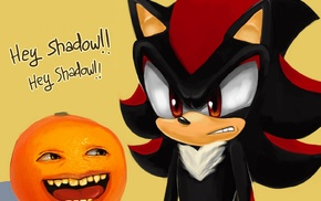 orange fruit, Shadow the Hedgehog, memes, Sonic, Sonic the Hedgehog