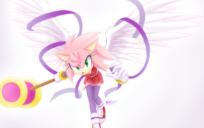 Sonic, Sonic the Hedgehog, angel, ribbon, Sonic Boom