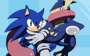 greninja, Sonic, Sonic the Hedgehog, Pokmon