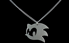 necklace, Sonic the Hedgehog, photography, Sonic