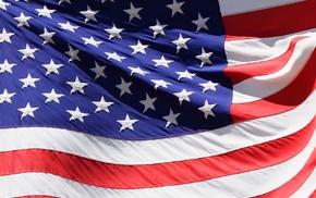 stripes, red, stars, blue, flag, white