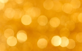 shiny, blurred, abstract, lights, yellow, texture