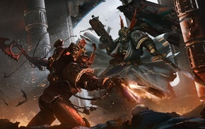 Warhammer 40, 000, Chaos Space Marine, fighting
