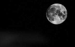 Moon, stars, universe, space