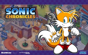 Sonic Chronicles The Dark Brotherhood, Sonic, Tails character