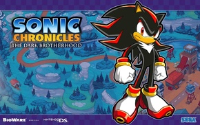 Shadow the Hedgehog, Sonic Chronicles The Dark Brotherhood, Sonic the Hedgehog
