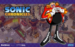 Sonic Chronicles The Dark Brotherhood, video games, Sonic the Hedgehog
