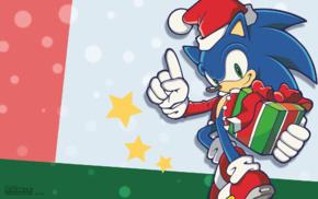 Sega, presents, Sonic the Hedgehog