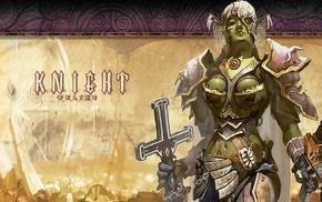 Knight Online, warrior, orcs