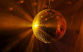 disco balls, disco, music, lights