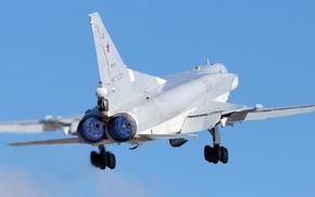 vehicle, Bomber, Russian Air Force, military aircraft, aircraft, Tupolev Tu