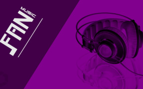 headsets, headphones, fans, purple, music