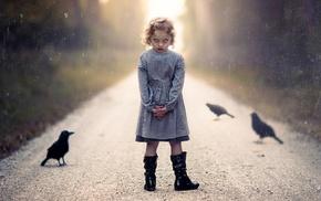 birds, evil, children, horror