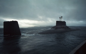 nuclear submarines, submarine, Typhoon class nuclear submarine, Russian Army, Project 971 sub.Akula