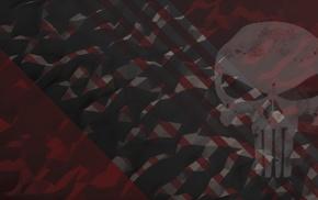The Punisher, comics, skull