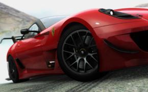 Driveclub, Ferrari, smoke, rims