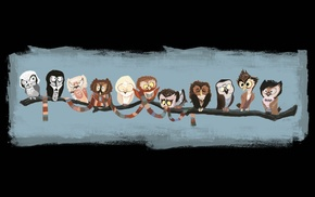 Doctor Who, owl, animals, scarf, clothing, TV