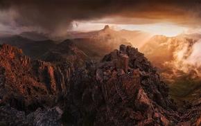 mountains, Tasmania, Australia