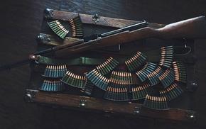 stripper clip, gun, ammunition, SKS
