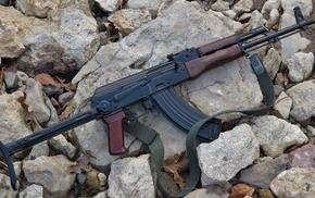 AKMS, weapon, Poland, gun, kalashnikov