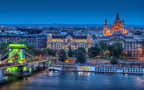 Budapest, city, Hungary, water