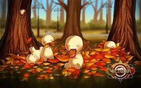 trees, memes, animals, mascot, leaves, fall