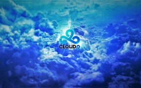 Cloud9, blue, sky, clouds, 9