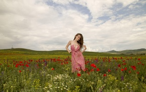 girl, Emily Bloom, dress