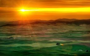 landscape, nature, desert