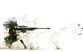 gun, anime