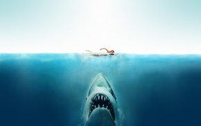 artwork, movies, Jaws