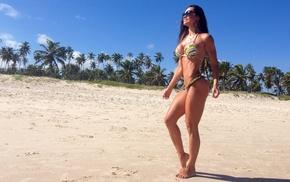 girl, bikini, Fernanda DAvila