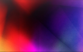 abstract, 3D, yellow, bright, dark, red