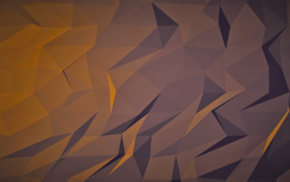 abstract, brown, 3D, dark, orange