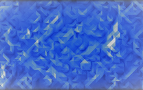 white, abstract, blue, bright, 3D