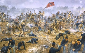 american civil war, battle, war, Confederate States of America, USA