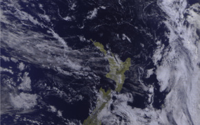 satellite imagery, space, Meteor, M N2, New Zealand