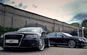 car, Bentley, Audi