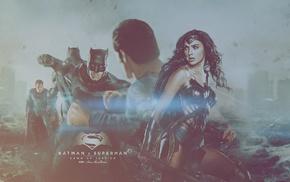 Batman v Superman Dawn of Justice, Ben Affleck, Wonder Woman, Henry Cavill, Gal Gadot