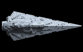 Star Destroyer, Star Wars, artwork