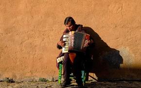 music, street music, men