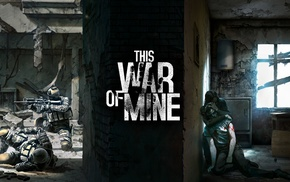 This War of Mine, apocalyptic, war
