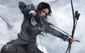 bow, hunting, girl, Rise of the Tomb Raider