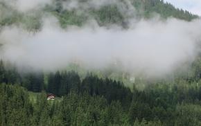 Lenk, Switzerland, Swiss Alps, chalet, Alps, Bernese Alps